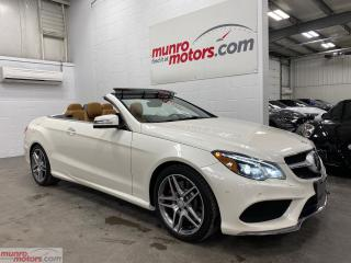 Used 2016 Mercedes-Benz E-Class 2dr Cabriolet E 400 RWD|Distronic|NAV|HarmonKardon for sale in St. George Brant, ON