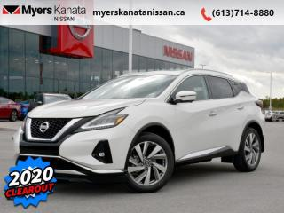 Used 2020 Nissan Murano SL  - Navigation -  Sunroof for sale in Kanata, ON