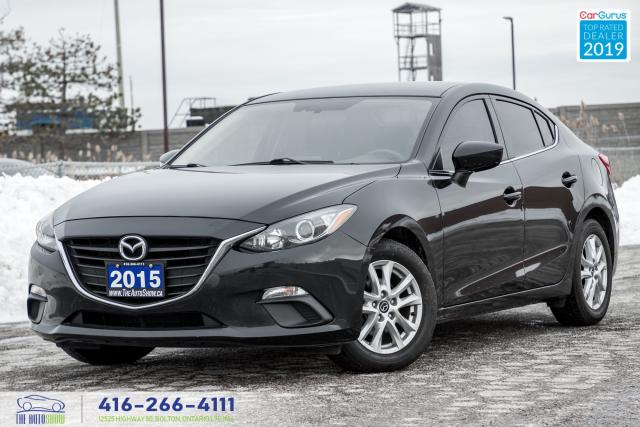 2015 Mazda MAZDA3 GS|1 Owner|Rear View Camera|Keyless Entry|PW|PL