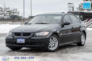 Used 2006 BMW 3 Series 1Owner CleanCarfax Certified Serviced 323i Sunroof for sale in Bolton, ON