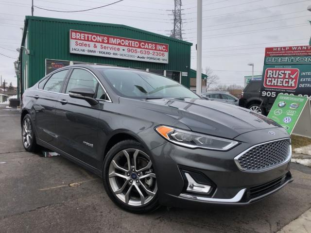 2019 Ford Fusion Hybrid Titanium Leather, Nav,Sunroof