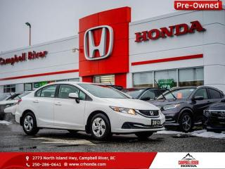 Used 2013 Honda Civic Sdn LX - Bluetooth - Heated Seats for sale in Campbell River, BC