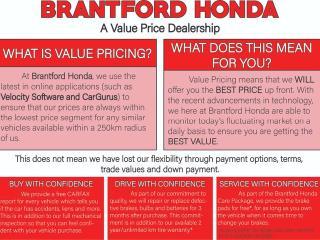 Used 2016 Honda Civic Sedan EX 4dr FWD Sedan for sale in Brantford, ON