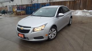 Used 2012 Chevrolet Cruze Auto,4 door, low  km, 3/Y warranty availab for sale in Toronto, ON