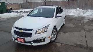 Used 2015 Chevrolet Cruze RS, LT, Only 68000 km, Auto, warranty avai for sale in Toronto, ON
