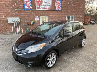 Used 2014 Nissan Versa Note SL/1.6L/NAVIGATION/REDUCED/SAFETY IINCLUDED for sale in Cambridge, ON