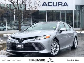 Used 2018 Toyota Camry 4-Door Sedan XLE 8A for sale in Markham, ON