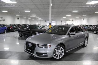 Used 2016 Audi A4 S-LINE I NO ACCIDENTS I NAVIGATION I REAR CAM I LEATHER I BT for sale in Mississauga, ON