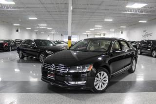 Used 2014 Volkswagen Passat TDI I NO ACCIDENTS I NAVIGATION I REAR CAM I LEATHER I BT for sale in Mississauga, ON