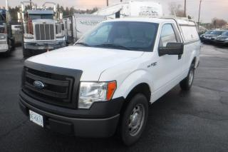 Used 2014 Ford F-150 XL Regular Cab 6.5-ft. Bed 2WD with Canopy and Rack for sale in Burnaby, BC