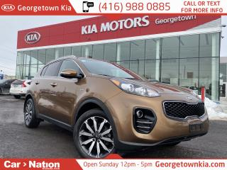 Used 2017 Kia Sportage AWD | EX | ALLOYS | PUSH START | B/UP CAM | B/T | for sale in Georgetown, ON
