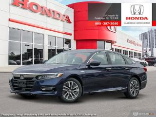 New 2020 Honda Accord Hybrid TOURING HYBRID TOURING for sale in Cambridge, ON