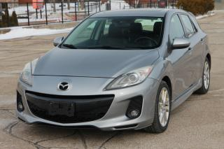 Used 2012 Mazda MAZDA3 GT Navigation | Leather | Sunroof for sale in Waterloo, ON