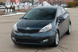 Used 2013 Kia Rio LX+ LOW KMs | ONLY 79K | Heated Seats for sale in Waterloo, ON