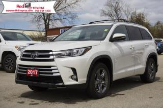 Used 2017 Toyota Highlander Limited LOADED - Navigation, Leather, Roof! for sale in Hamilton, ON