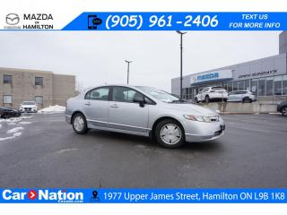 Used 2006 Honda Civic Hybrid AS-TRADED | HYBRID | CRUISE CONTROL | AUX INPUT for sale in Hamilton, ON