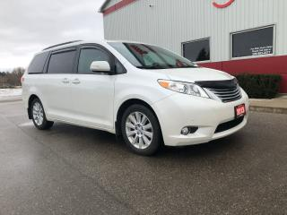 Used 2013 Toyota Sienna Limited AWD, Navigation for sale in Tillsonburg, ON