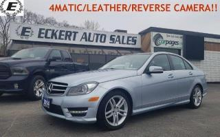Used 2014 Mercedes-Benz C-Class C 300 4MATIC/SUNROOF/DON'T PAY FOR 6 MONTHS OAC!! for sale in Barrie, ON