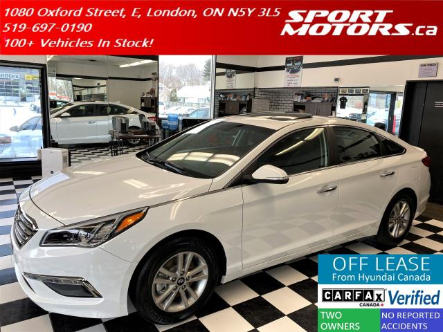 2016 Hyundai Sonata GLS+Heated Seats+Steering+Sunroof+Camera+New Tires