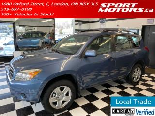 Used 2008 Toyota RAV4 4WD+AUX Input+Keyless Entry+Cruise for sale in London, ON