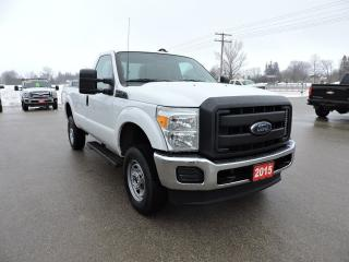Used 2015 Ford F-250 XL. 6.2L V8 gas. 4X4. Bluetooth for sale in Gorrie, ON