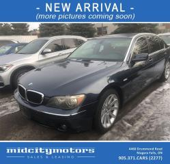 Used 2006 BMW 7 Series 750Li/ FULLY LOADED! **NEW ARRIVAL** for sale in Niagara Falls, ON