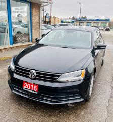 Used 2016 Volkswagen Jetta TRENDLINE+ for sale in Brampton, ON