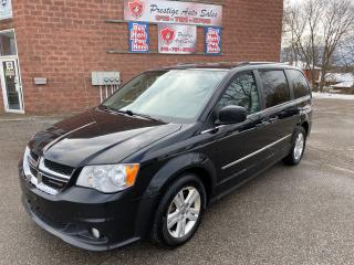Used 2015 Dodge Grand Caravan Crew/3.6L/ONE OWNER/NO ACCIDENT/CERTIFIED for sale in Cambridge, ON