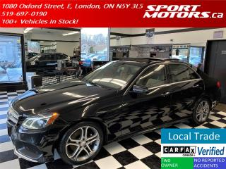 Used 2014 Mercedes-Benz E-Class E250 BlueTEC 4Matic+GPS+PanoRoof+Camera+New Tires for sale in London, ON