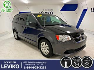 Used 2017 Dodge Grand Caravan SXT **STOW N' GO** for sale in Lévis, QC