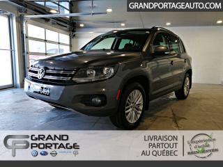 Used 2015 Volkswagen Tiguan Édition spéciale 4 portes 4MOTION BA for sale in Rivière-Du-Loup, QC