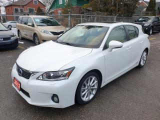 Used 2012 Lexus CT 200h Premium FWD for sale in Brampton, ON