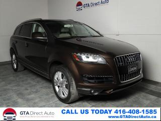 Used 2012 Audi Q7 TDI Premium Plus Nav Pano BlindSpot7Pass Certified for sale in Toronto, ON