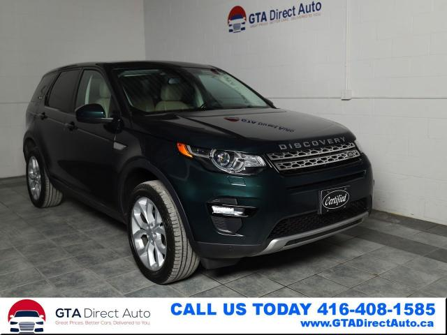 2016 Land Rover Discovery Sport HSE Nav Pano Camera AWD BlindSpot Xenon Certified