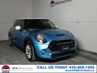 Used 2016 MINI Cooper S S Turbo 189HP Panoroof Auto Cruise KeyGo Certified for sale in Toronto, ON