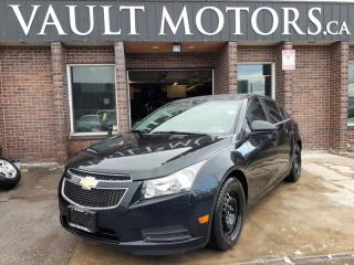Used 2011 Chevrolet Cruze 4 DR SEDAN, KEY LESS ENTRY, ALLOY WHEELS, SUNROOF, A/C for sale in Brampton, ON