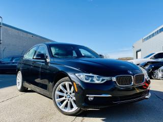 Used 2017 BMW 3 Series |AUTO|SUN ROOF|APPLE CAR PLAY|HEATED SEATS|ALLOYS|LEATHER! for sale in Brampton, ON