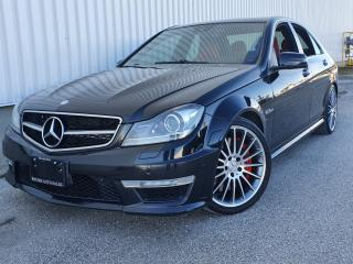 Used 2012 Mercedes-Benz C-Class 4dr Sdn C63 P31PKG|RED INTERIOR|WE FINANCE EVERYONE for sale in Mississauga, ON