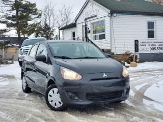 Used 2015 Mitsubishi Mirage 1-Owner No Accidents ES Manual Gas Saver Power Group for sale in Sutton, ON