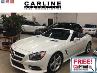 Used 2013 Mercedes-Benz SL-Class CONVERTIBLE Roadster SL550 for sale in Nobleton, ON