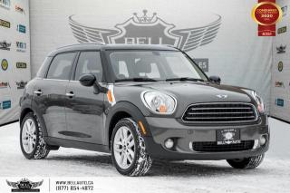 Used 2012 MINI Cooper Countryman NO ACCIDENT, PANO ROOF, LEATHER, BLUETOOTH, HEATED SEAT for sale in Toronto, ON