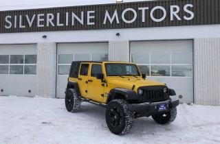 Used 2008 Jeep Wrangler Unlimited X for sale in Winnipeg, MB