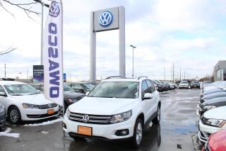 Used 2016 Volkswagen Tiguan 4MOTION Auto Comfortline for sale in Whitby, ON