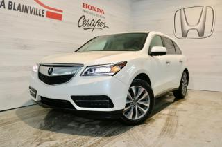Used 2016 Acura MDX Navigation SH-AWD for sale in Blainville, QC