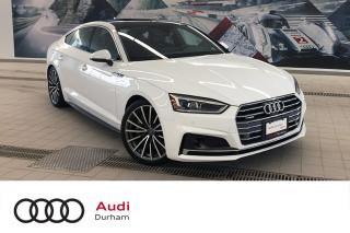 Used 2018 Audi A5 2.0T Technik + Loaded!   Driver Assist   S-Line for sale in Whitby, ON