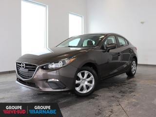Used 2016 Mazda MAZDA3 GX CLIMATISEUR+CAMERA DE RECUL+++ for sale in St-Jean-Sur-Richelieu, QC
