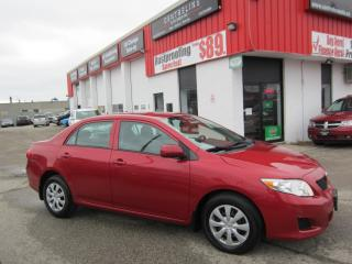 Used 2010 Toyota Corolla CE $6,995+HST+LIC FEE/ CLEAN CARFAX REPORT / CERTIFIED for sale in North York, ON
