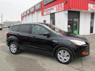Used 2016 Ford Escape S $12,495+HST+LIC FEE/ 1 OWNER LOCAL SUV / CLEAN CARFAX REPORT for sale in North York, ON