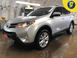 Used 2013 Toyota RAV4 Limited * AWD * Leather interior * Power sunroof * Push button ignition * Heated front seats * Auto/manual with eco/sport mode * Automatic headlights for sale in Cambridge, ON