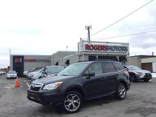 Used 2016 Subaru Forester 2.5I LTD AWD - NAVI - PANO ROOF - LEATHER for sale in Oakville, ON